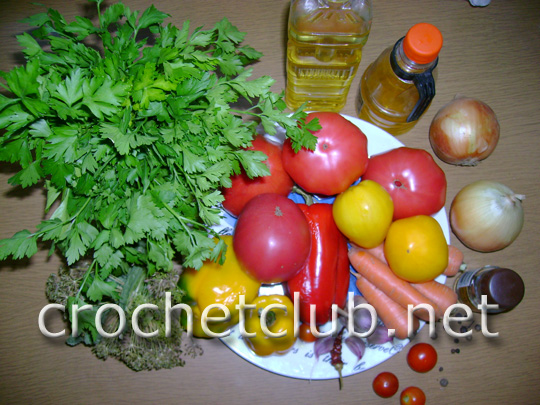 заготовка салатов на зиму