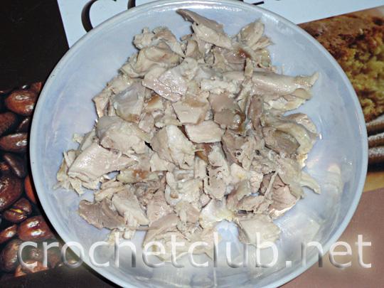 салат с грибами 2