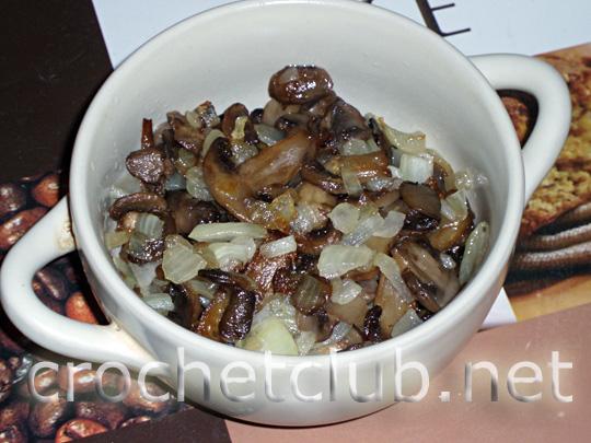 салат с грибами 4