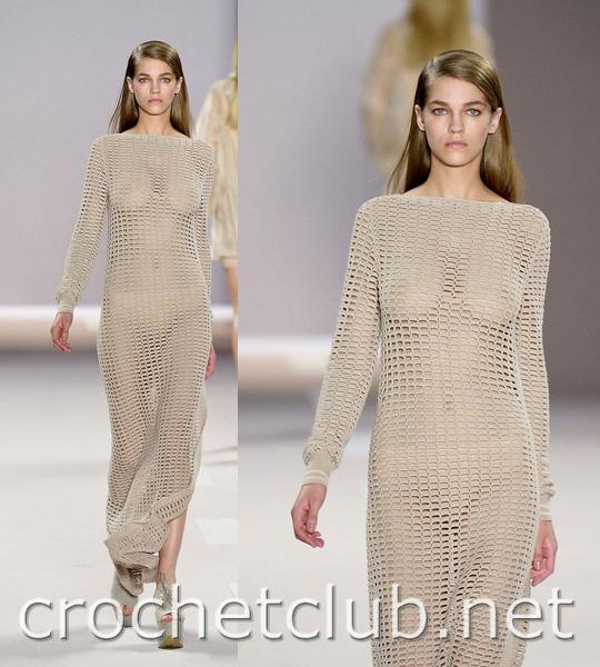 Блог для женщин.  Сегодня. представляем вашему вниманию небольшую подборку вязаной моды с подиума, сезона весна/лето