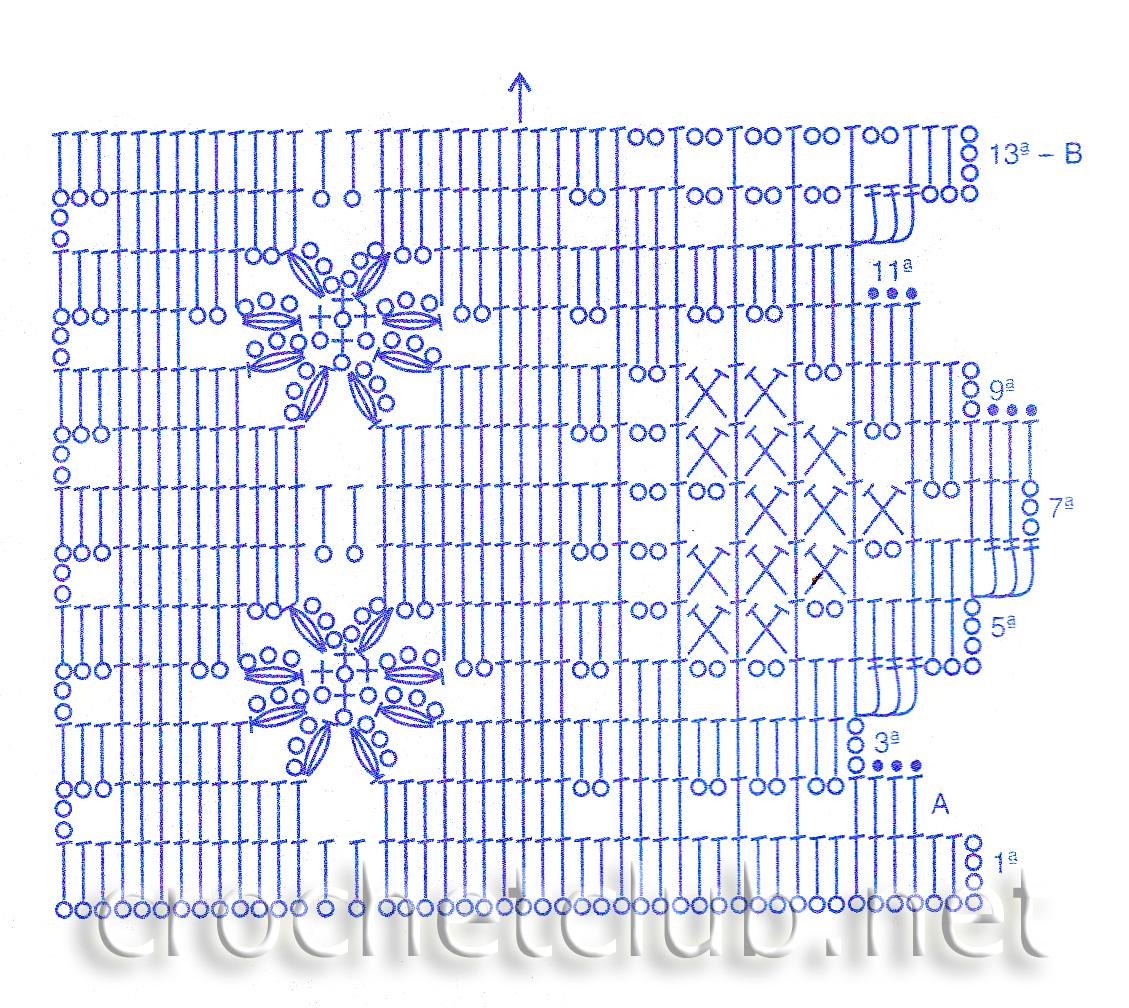 Вязание крючком схемы для вязания крючком с подробным 14
