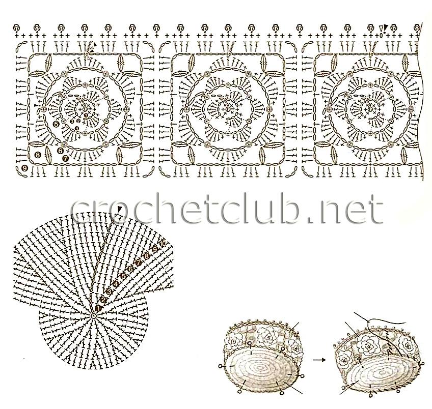 Вязаные варежки с орнаментом спицами со схемами фото 90