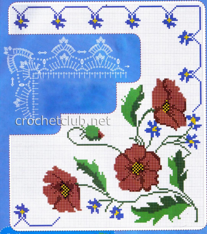 Схема вышивки объемный домик фото 620