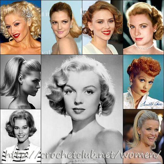 Причёски 60 70 годов