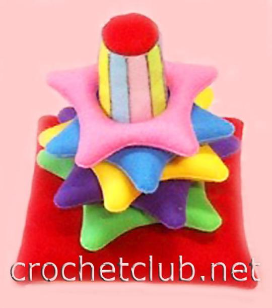 Сшить пирамидку для ребенка своими руками