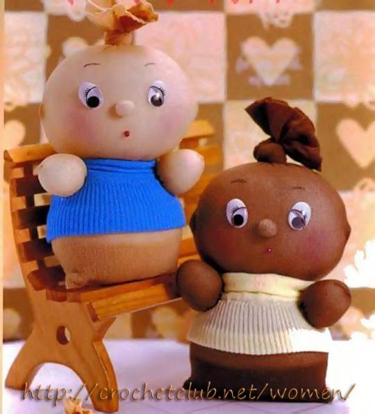 Кукла из чулка своими руками фото 599