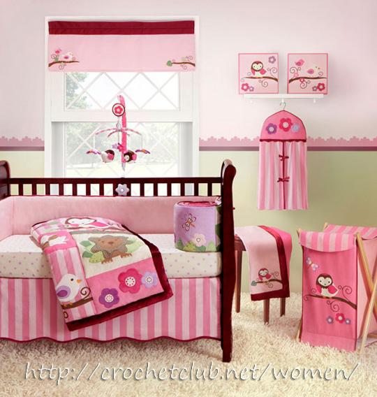 Идеи детской комнаты для маленькой