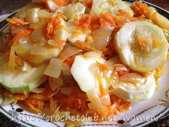 Обожаю кабачки и блюда из них сегодня
