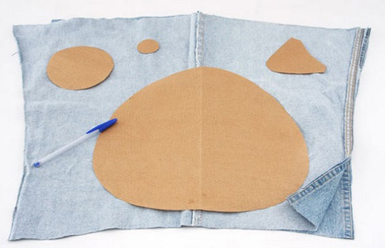 Игрушки с ткани своими руками фото