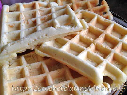 вафли бисквитные рецепты